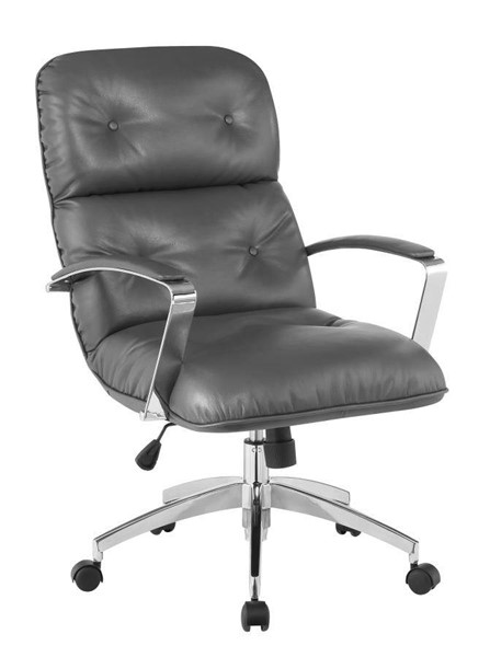 Coaster Furniture Grey Faux Leather Office Chair CST-801374