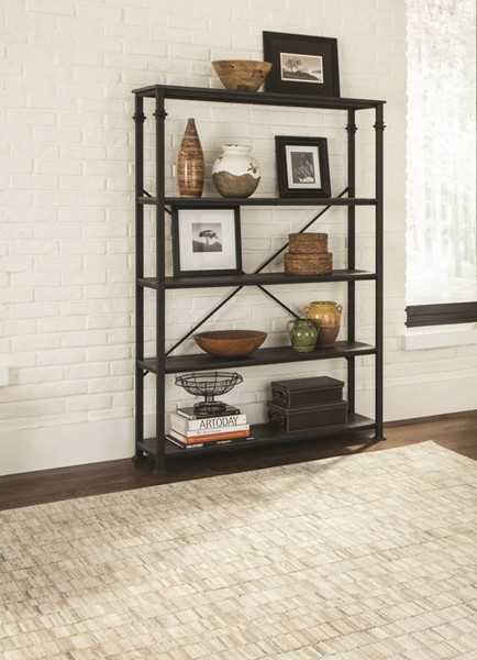 Coaster Furniture Grey Double Bookcase CST-801440