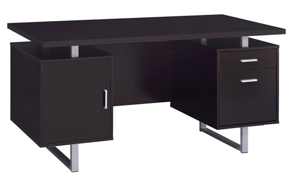Coaster Furniture Glavan Cappuccino Office Desk CST-801521