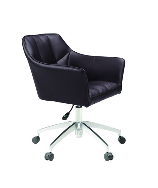 Coaster Furniture Brown PU Cushion Adjustable Height Office Chair CST-801539