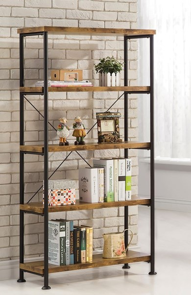 Coaster Furniture Barritt Nutmeg Bookcase CST-801542