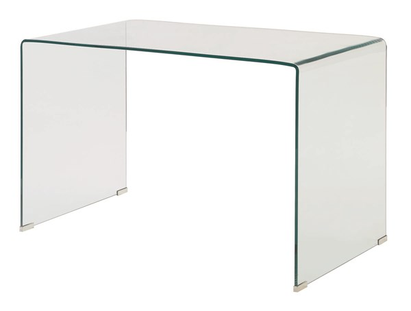 Coaster Furniture Caraway Clear Glass Writing Desk CST-801581
