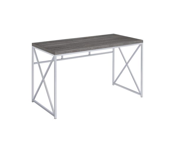 Coaster Furniture Weathered Grey Writing Desk CST-801615