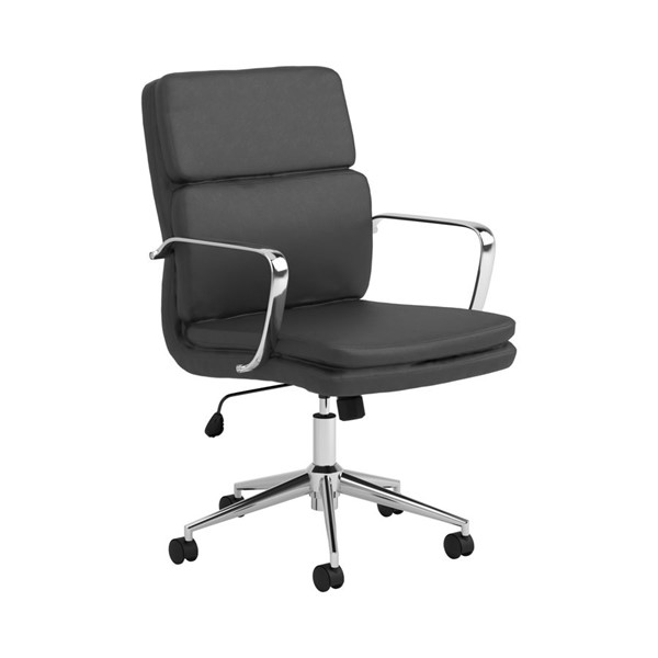 Coaster Furniture Black PU Office Chair CST-801765