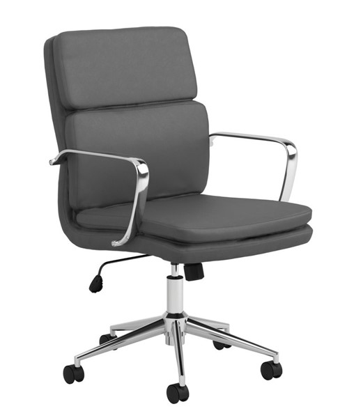 Coaster Furniture Grey PU Office Chair CST-801766