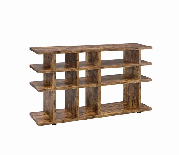 Coaster Furniture Antique Nutmeg MDF Bookcase CST-801848