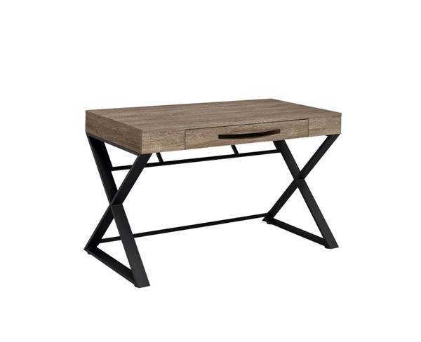 Coaster Furniture Weathered Taupe Writing Desk CST-801955