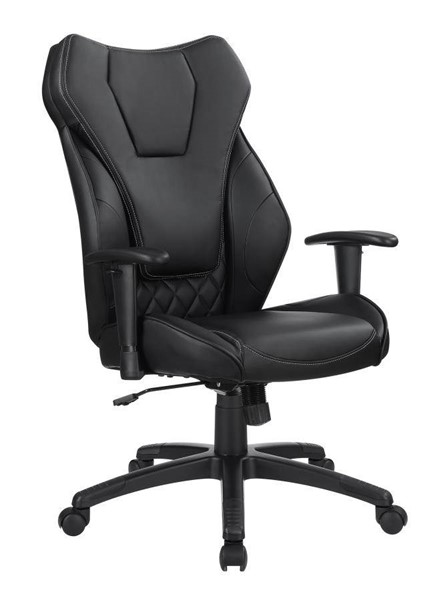 Coaster Furniture Black Faux Leather Task Office Chair CST-802470
