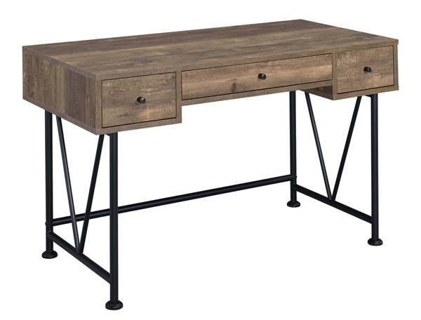 Coaster Furniture Analiese Rustic Oak Writing Desk CST-802541