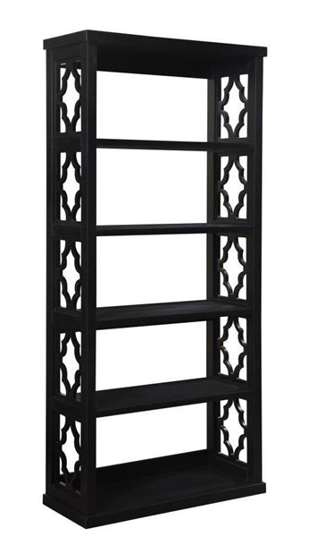 Coaster Furniture Black Particle Board Bookcase CST-802577
