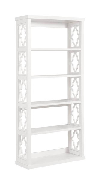 Coaster Furniture White Particle Board Bookcase CST-802578
