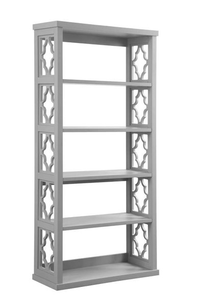 Coaster Furniture Grey Particle Board Bookcase CST-802579