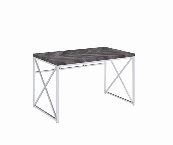 Coaster Furniture Grimma Rustic Grey Writing Desk CST-802611