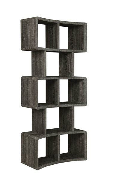 Coaster Furniture Weathered Grey Bookcase CST-802666