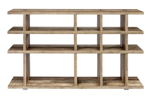 Coaster Furniture Weathered Pine MDF Bookcase CST-802848