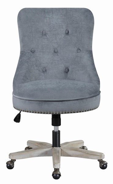 Coaster Furniture Grey Tufted Back Office Chair CST-803629