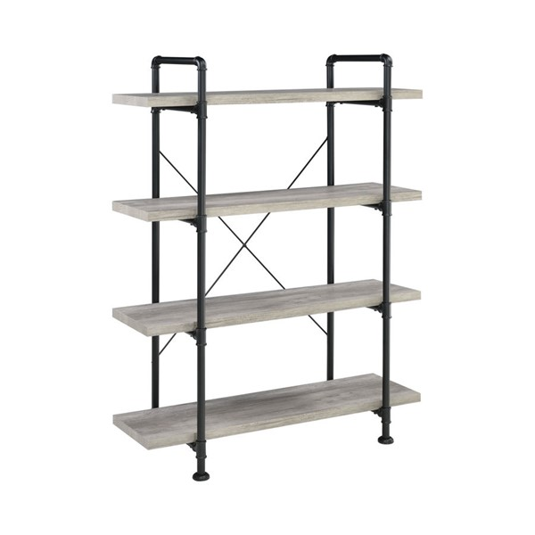 Coaster Furniture Grey Driftwood Bookcase CST-804406