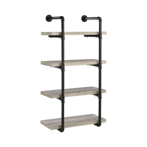 Coaster Furniture Wood 24 Inch Wall Shelfs CST-80441-BKC-VAR