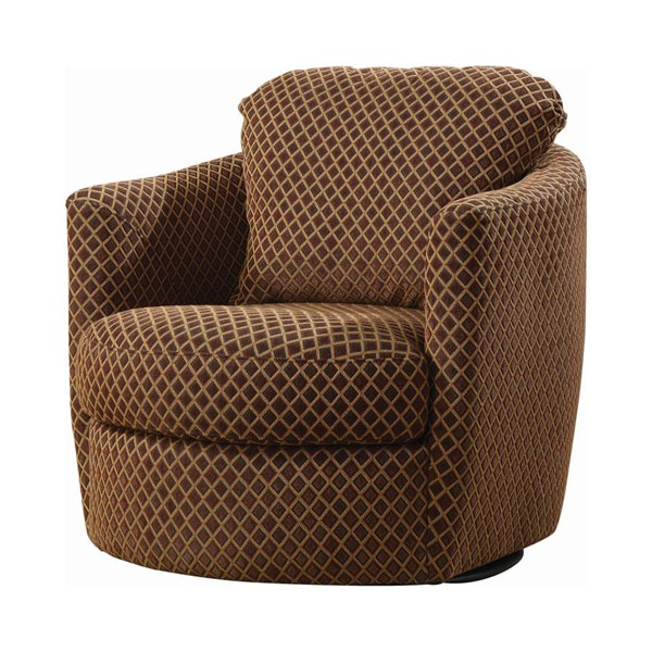 Coaster Furniture Brown Swivel Chair CST-900405