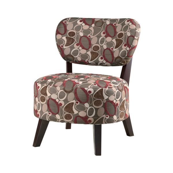 Coaster Furniture Red Brown Accent Chair CST-900425