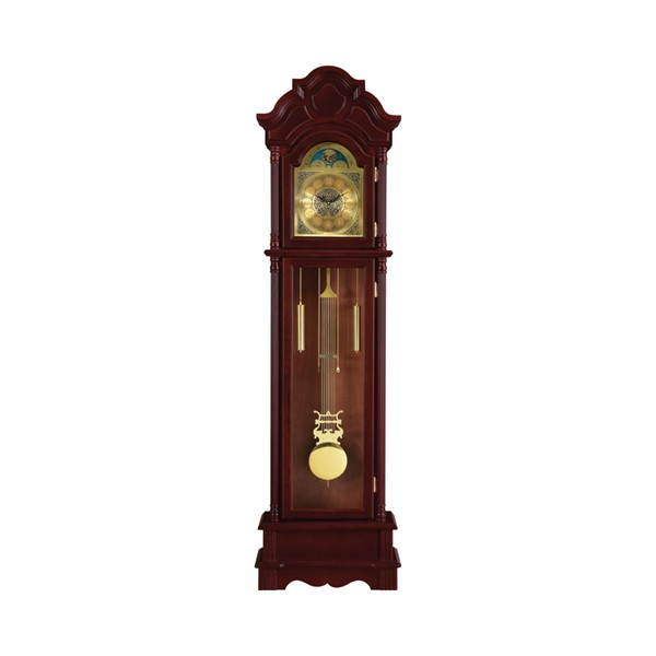 Coaster Furniture Brown Red Grandfather Clock CST-900749