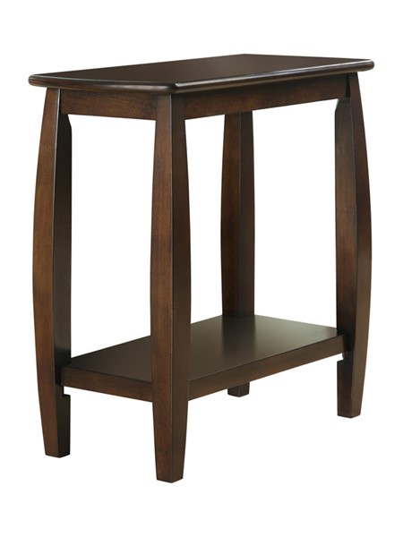Coaster Furniture Cappuccino Wood Chairside Table CST-900994