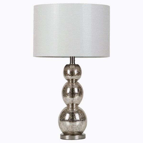 Coaster Furniture Antique Silver Table Lamp CST-901185