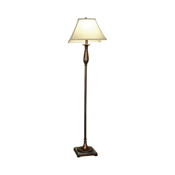 Coaster Furniture Bronze Metal Shade Floor Lamp CST-901204