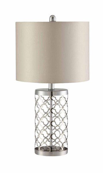 Coaster Furniture Light Gold Beige Fabric Table Lamp CST-901314