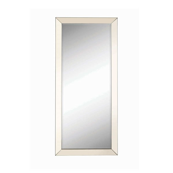 Coaster Furniture Silver Glass Rectangle Mirror CST-901813