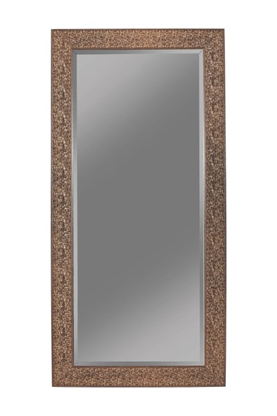 Brown Green Silver Black Raised Mosaic Inspired Design Mirrors CST-90198-MR-VAR