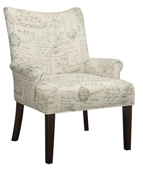Coaster Furniture Off White Fabric Accent Chair CST-902149