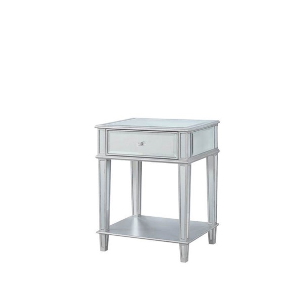 Coaster Furniture Clear Mirror Accent Table CST-904014