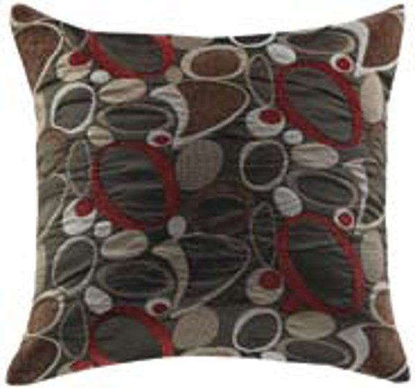 2 Fabric Oblong Square Accent Pillow CST-905008