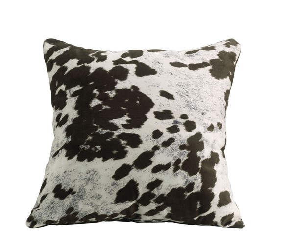 2 Fabric Brown Cow Accent Pillows W/Non Removable Cover CST-905068