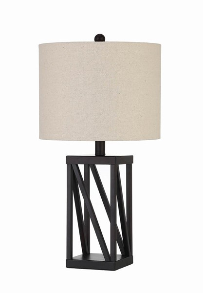 Coaster Furniture Black Shaded Table Lamp CST-920020