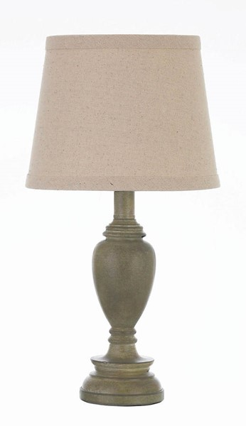 Coaster Furniture Light Faux Wood Table Lamp CST-920021