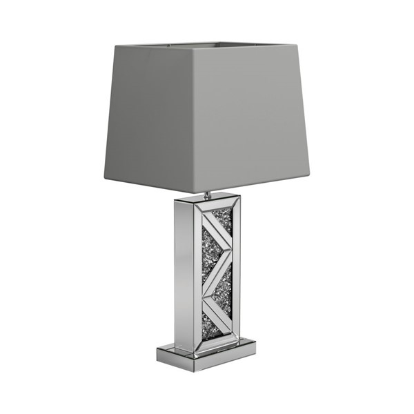 Coaster Furniture Silver 40 Watts Table Lamp CST-920141