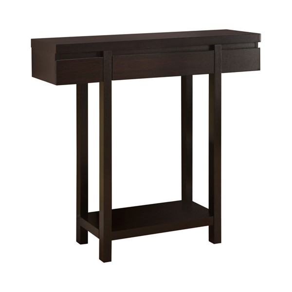 Coaster Furniture Cappuccino Wood Entry Table CST-950135