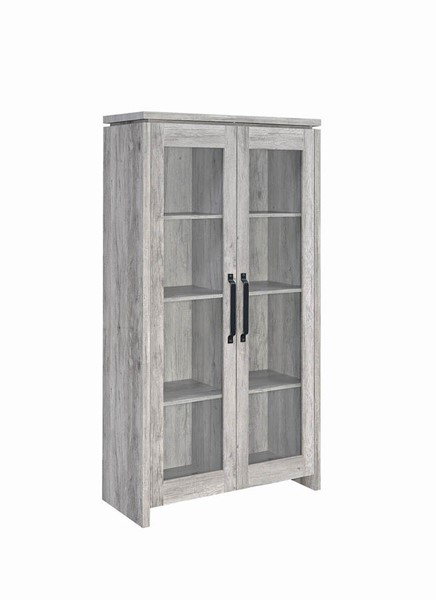 Coaster Furniture Rustic Grey Tall Cabinet CST-950783