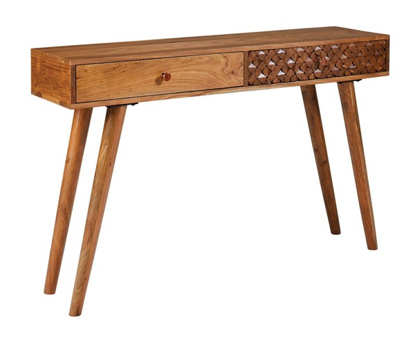 Coaster Furniture Natural Brown Console Table CST-951790