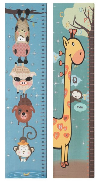 2 Modern Animal Rules Rectangle Wall Arts CST-960939