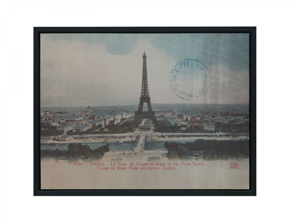French View Rectangle Wall Art CST-961016