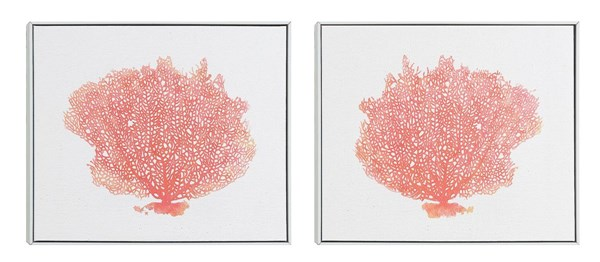 2 Coral Reef Tree Rectangle Arts W/Frame CST-961021