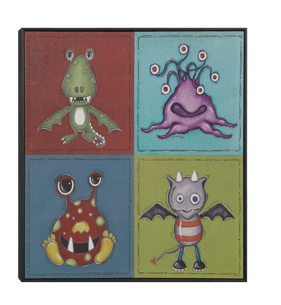 Imaginary Friends Square Wall Art w/Frame CST-961027