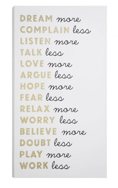 Inspired Thought Wall Art CST-961046