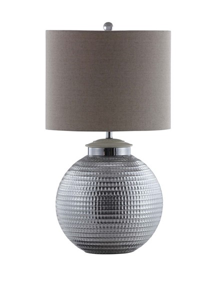 Coaster Furniture Oatmeal Silver Table Lamp CST-961223