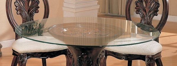 Contemporary Glass Round Dining Table Top  CST-CB48RD