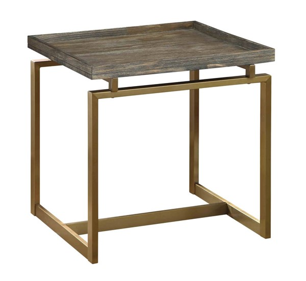Coast to Coast Biscayne Brown End Table CTC-13639