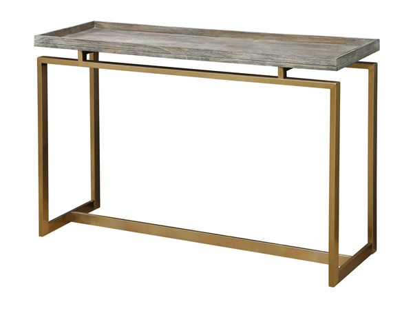 Coast to Coast Biscayne Brown Console Table CTC-13640